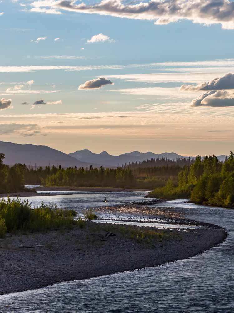 North Fork Flathead River Homes For Sale